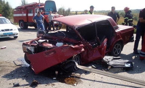 На Черкащині не розминулися вантажівка з легковиком: є постраждалі