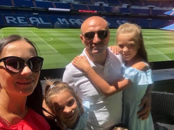 Мер Черкас у Мадриді отримав футболку