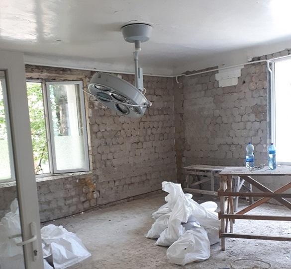 У Першій міській лікарні в Черкасах ремонтують операційний блок (ФОТО)
