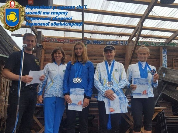 Черкащанка виборола перші місця на чемпіонаті Європи з морських багатоборств