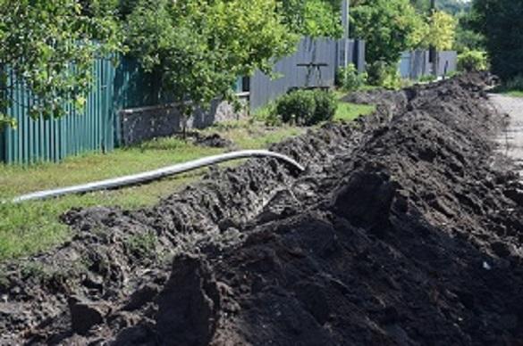 Зрушили з місця: у Шполі будують новий водогін