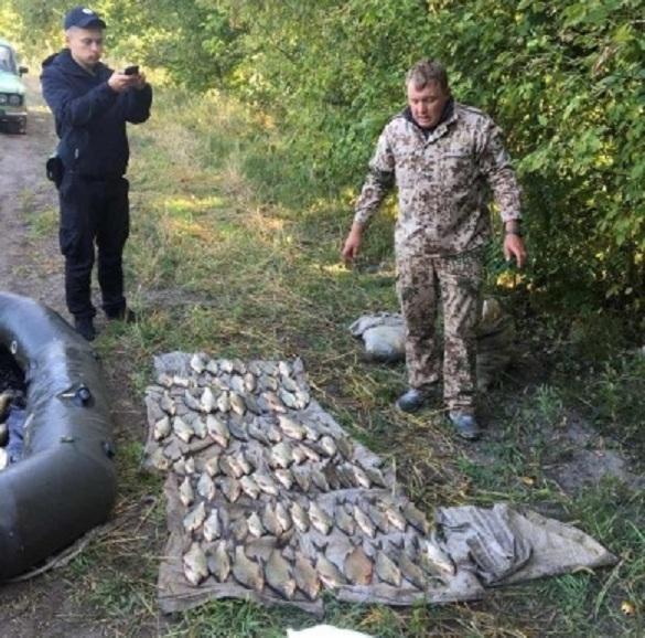 На Черкащині браконьєр наловив риби на більш ніж 50 тисяч гривень