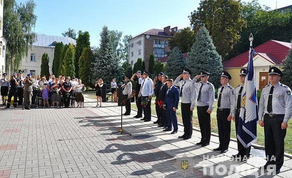 Черкаські поліцейські вшанували пам'ять колег, які загинули під час виконання службових обов'язків