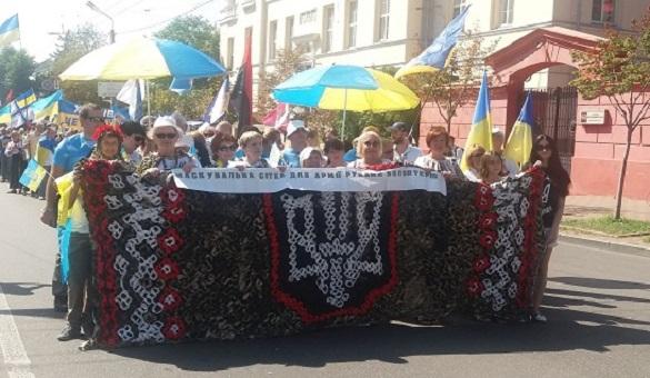 Волонтери з Черкащини відзначилися на Марші гідності в Києві