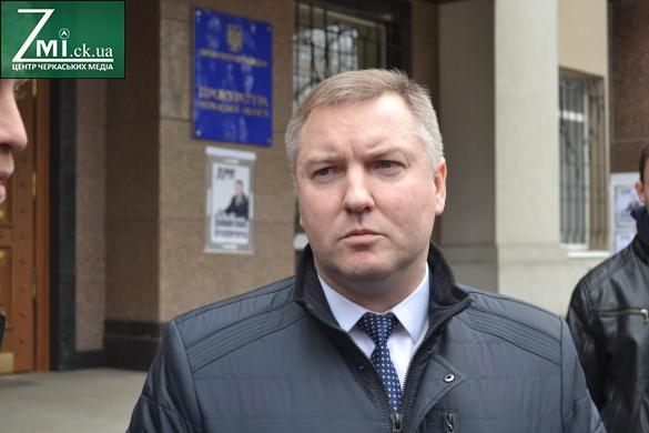 Овчаренко більше не обіймає посаду прокурора Черкаської області