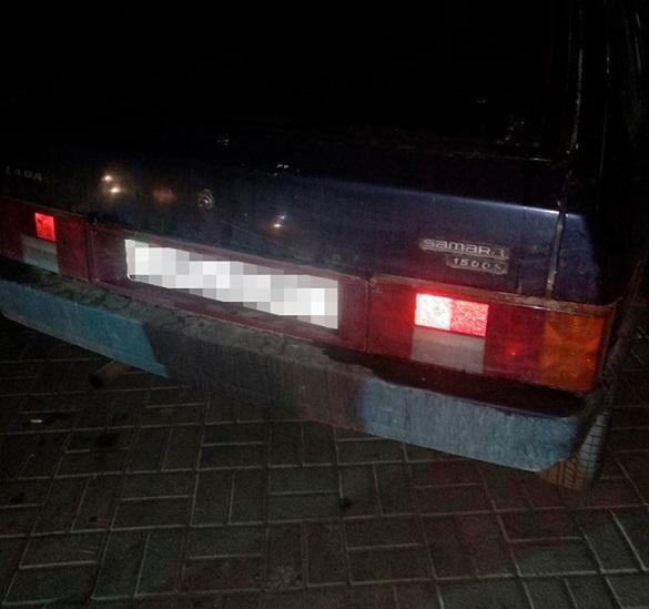 Під кайфом та з наркотиками: у Черкасах затримали водія (ФОТО)