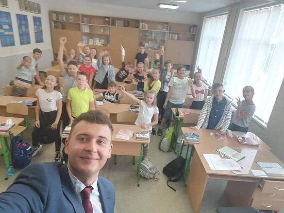 Наймолодший сільський голова з Черкащини поїхав вчителювати у столицю