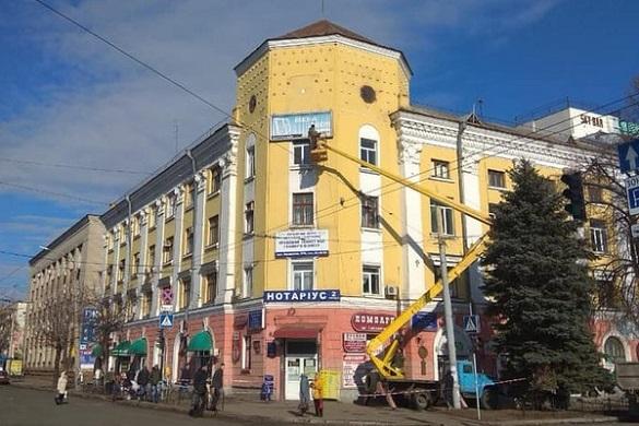 Жителі Черкас просять відремонтувати фасад ЦНТЕІ