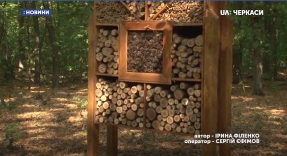 На Черкащині створили еколого-просвітницьку стежку (ВІДЕО)