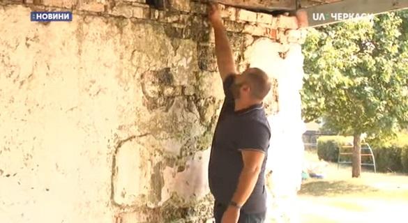 Жителі Черкас просять відремонтувати павільйони на території одного з садочків міста (ВІДЕО)