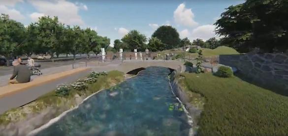З'явилося відео, який вигляд матиме вхід у черкаський дитячий парк
