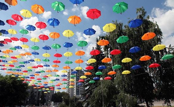 У Смілі до Дня міста відновлять алею парасольок