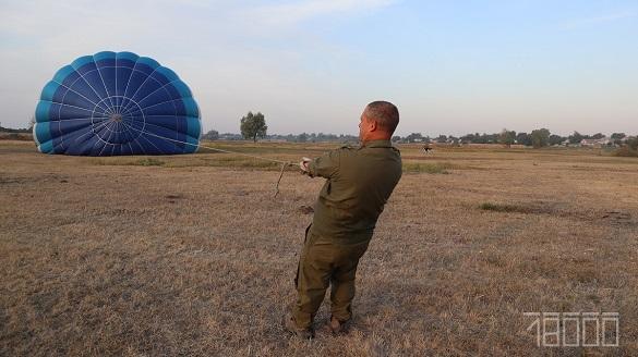 Над Черкасами замайоріли повітряні кулі (ФОТО)