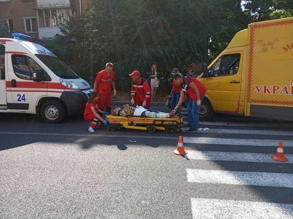 У Черкасах на пішохідному переході збили двох жінок (фото)