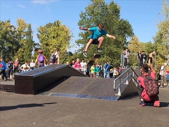 У Каневі відкрили скейт-парк (ФОТО)