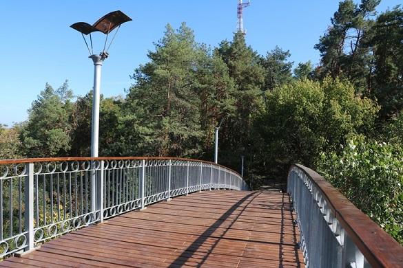 Черкаський Міст кохання відкритий для відпочивальників після реконструкції
