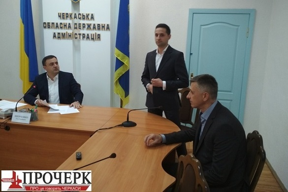 Голова Черкаської ОДА представив своїх нових заступників (ФОТО)