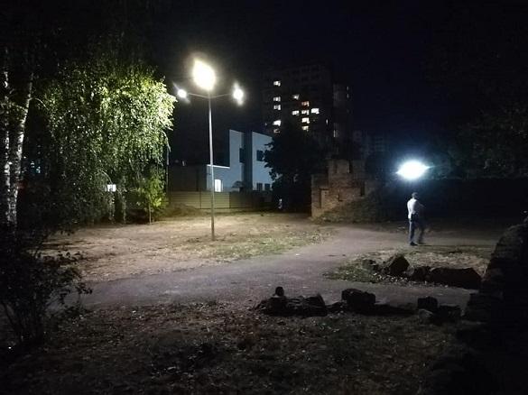 Дитячий парк у Черкасах став безпечнішим