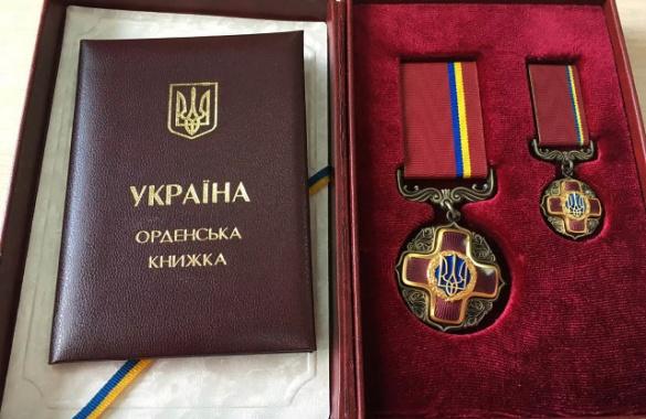 Професор із Черкащини отримав орден від Президента