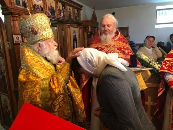 У селі на Черкащині освятили Московську церкву