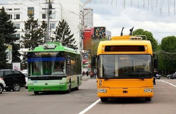 Жителі Черкас просять створити додатковий тролейбусний маршрут