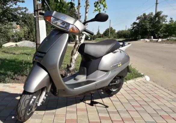На Черкащині знайшовся викрадений в Кіровоградській області скутер