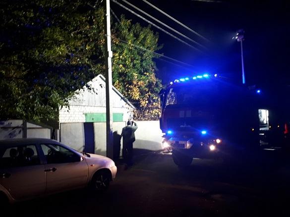 На Черкащині під час пожежі постраждав чоловік