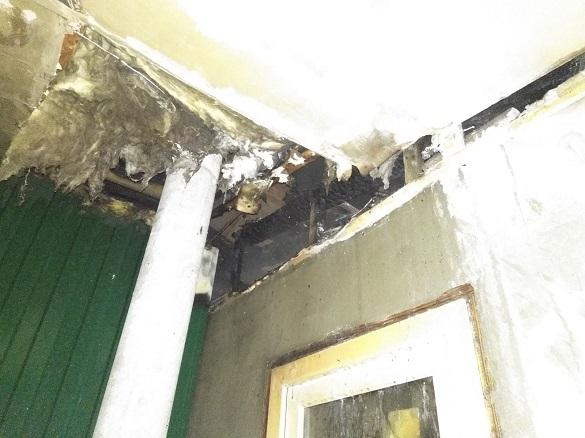 На Черкащині горів димар житлового будинку