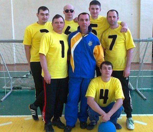 Черкаська команда отримала призове місце серед спортсменів з вадами зору