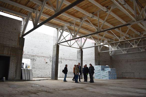 У Черкаській ОДА розповіли, на якому етапі будівництво обласної школи олімпійського резерву