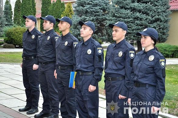 На Черкащині шість поліцейських склали присягу (ФОТО)