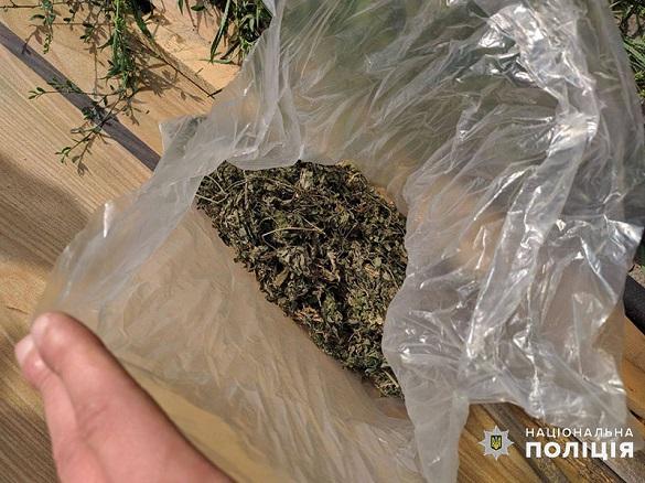 На Черкащині у раніше судимого чоловіка виявили пакет з канабісом