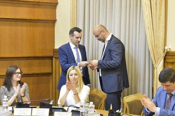 Сергія Рудика ЦВК офіційно зареєструвала народним депутатом