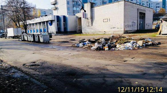 У Черкасах за несанкціоноване складування сміття штрафуватимуть