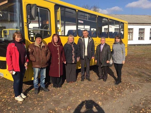 На Смілянщині закупили новий шкільний автобус (ФОТО)