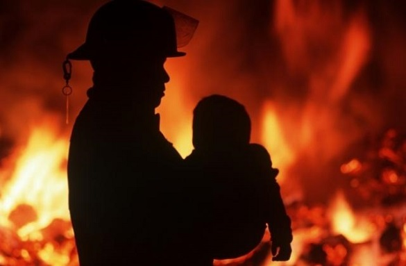 На Черкащині в пожежі загинуло двоє дітей