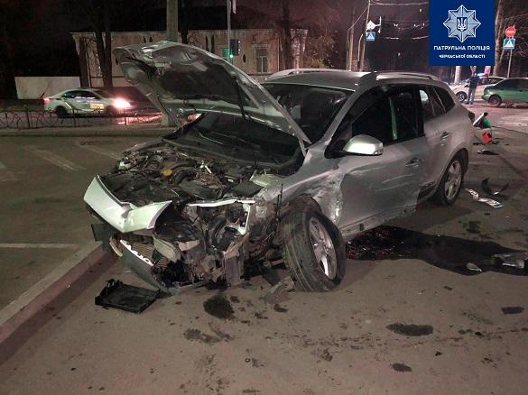 Є потерпілі: у Черкасах п'яний водій зчинив ДТП