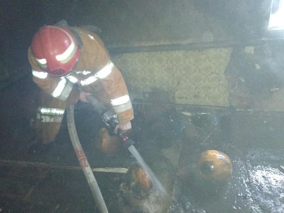 На Черкащині у пожежі загинув чоловік (ВІДЕО)