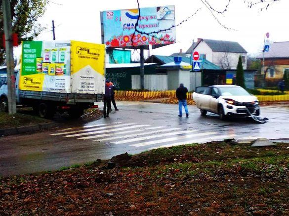 За три дні на одному й тому ж перехресті Черкас сталось дві аварії