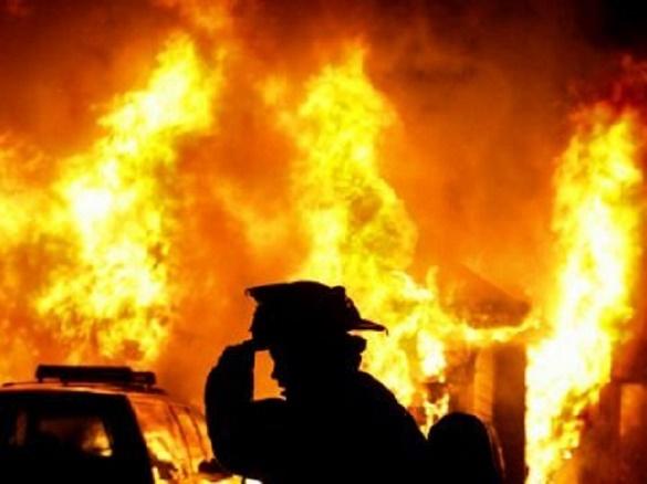 У вогні на Черкащині загинув чоловік