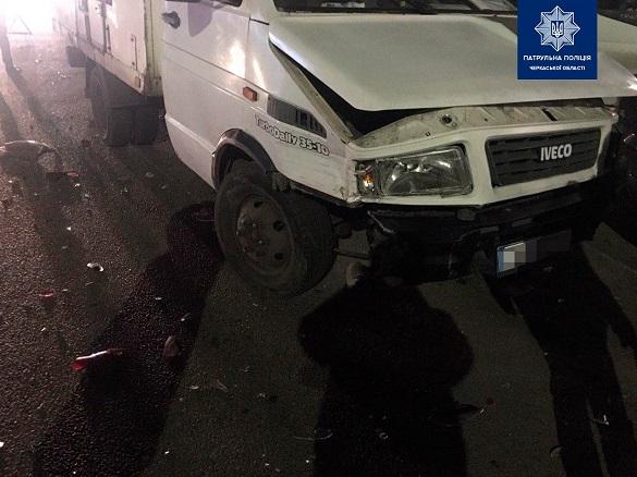 У Черкасах сталося ДТП за участі п`яти автомобілей (ФОТО)