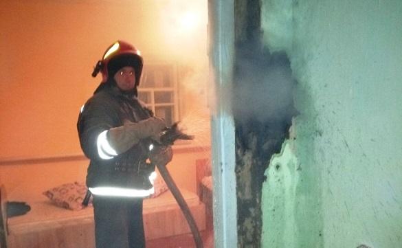Через не правильну експлуатацію пічного опалення на Черкащині горіло два будинки (ФОТО)