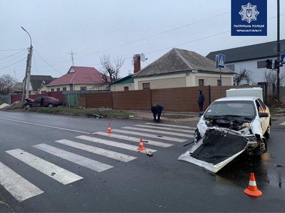 У Черкасах сталася ДТП з постраждалими (ФОТО)