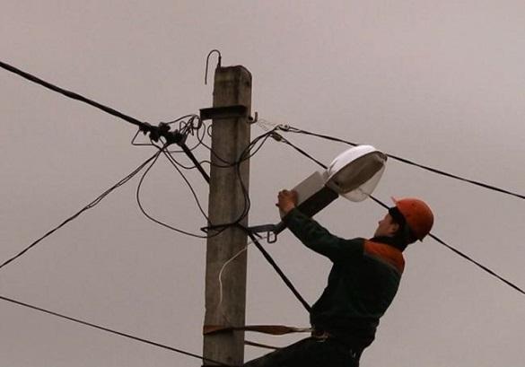 У Черкасах реконструювали освітлення на одній із вулиць міста