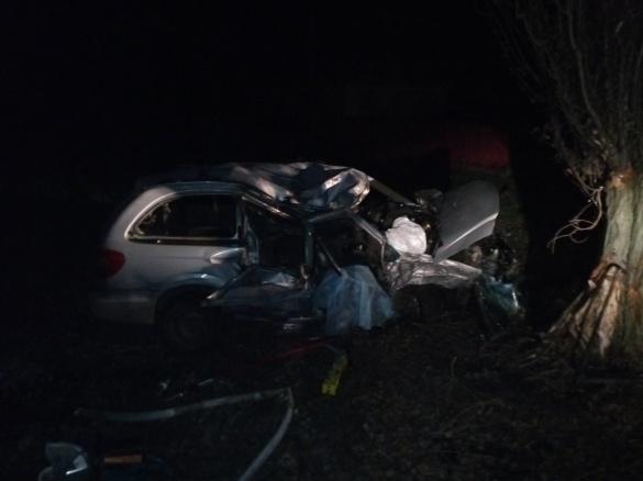 Загинув на місці: на Черкащині в ДТП водій з'їхав в кювет та зіткнувся з деревом