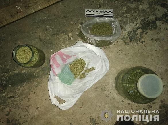 На Черкащині в гаражі приватного домоволодіння знайшли наркотики (ФОТО)