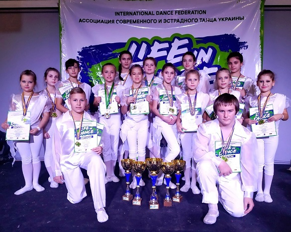 Черкаські танцівники вибороли 70 нагород на Першості Світу та Міжнародному фестивалі