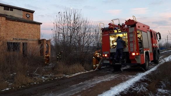 Дитячі пустощі з вогнем на Черкащині спричинили пожежу (ФОТО)