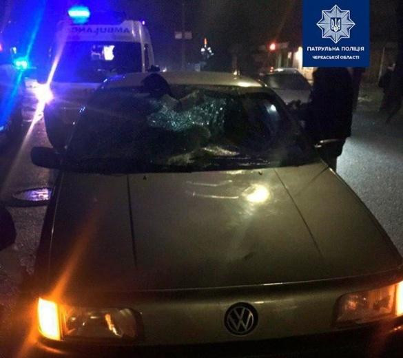 У Черкасах водій збив пішохода напідпитку (ФОТО)