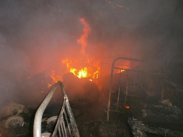 На Черкащині у пожежі загинула людина (ФОТО)